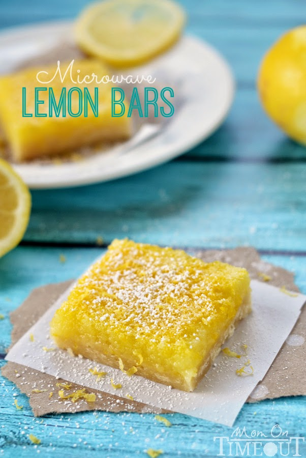 Microwave Lemon Bars