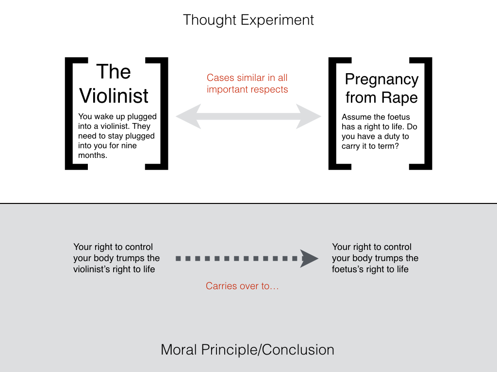 Philosophical Disquisitions: Abortion and the Violinist