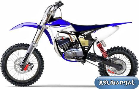 Gambar Modifikasi Motor Trail Sport
