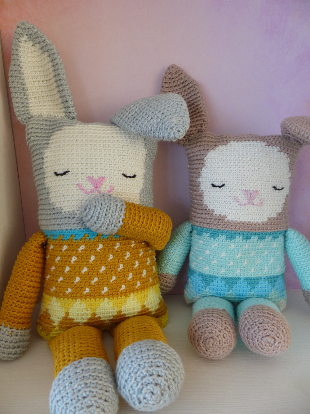 Madebyleen Blog Over Haken Crochet Blog Knuffelkonijntje