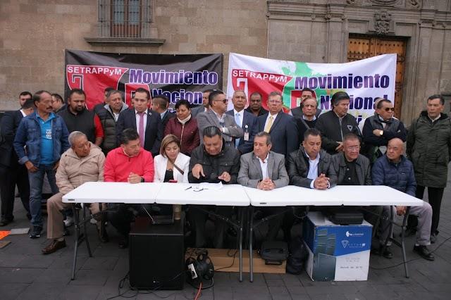 FRACASA DIÁLOGO ENTRE SEGOB Y EL MOVIMIENTO NACIONAL TAXISTA, HABRÁ MÁS MOVILIZACIONES SI NO INTERVIENE EL PRESIDENTE