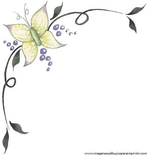 Bordes para decorar hojas nuevas im genes imagenes y - Como decorar un dibujo de una castana ...