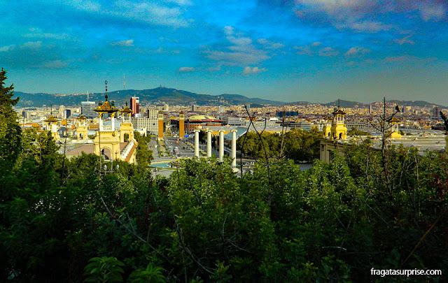 Barcelona vista de Montjuic