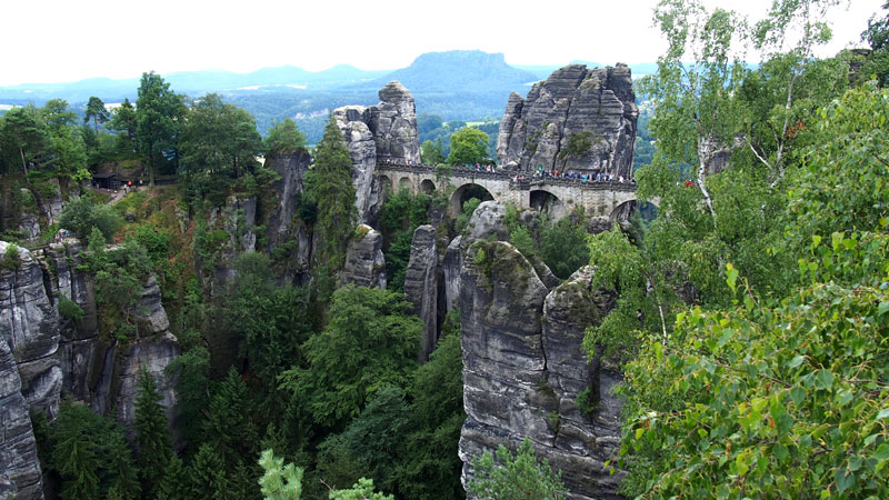 Patikointia Saksan vuoristossa