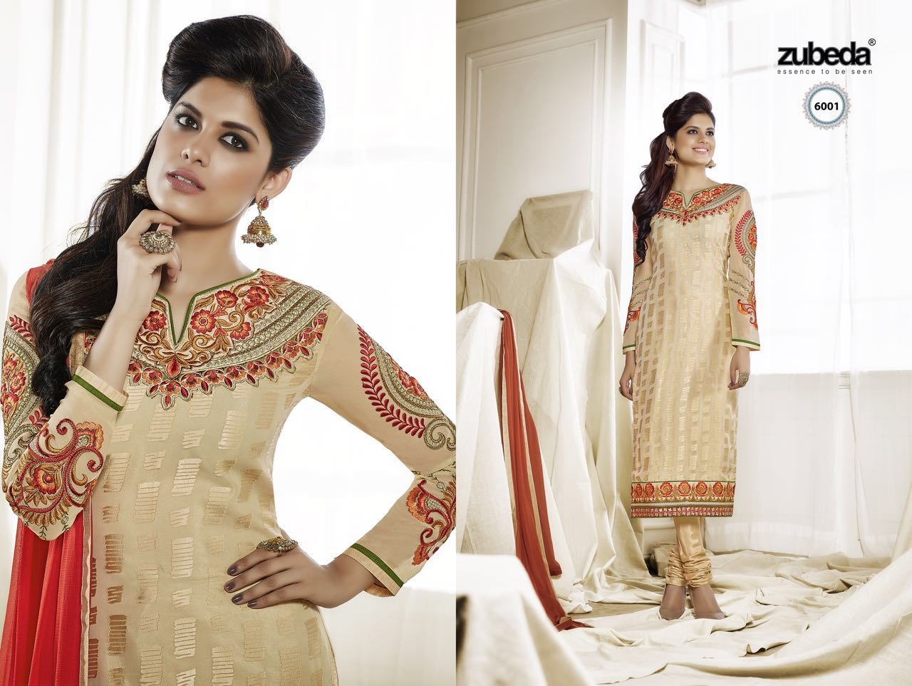 Zubeda – Brasso Salwar Suit With Embroidery