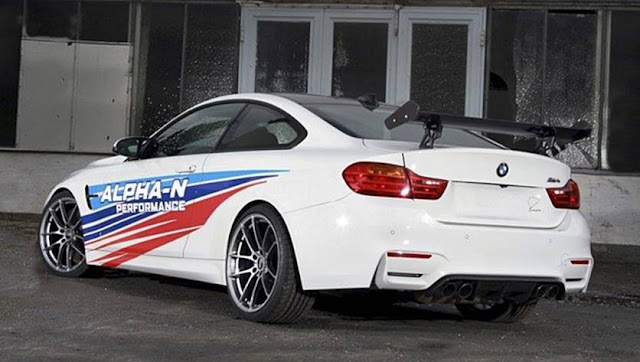 2017 BMW M4 By Alpha-N Performance