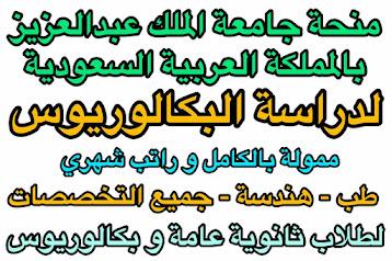 منحة الملك عبد العزيز في السعودية لدراسة البكالوريوس| ممولة بالكامل| بها جميع التخصصات و منها الطب و الهندسة