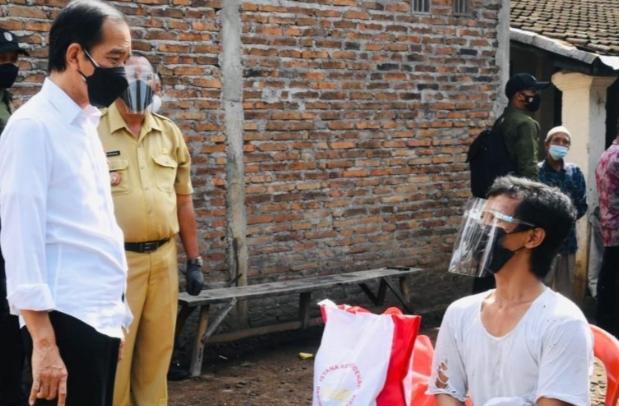 Jokowi Jumpa Joko Widodo di Klaten Jawa Tengah