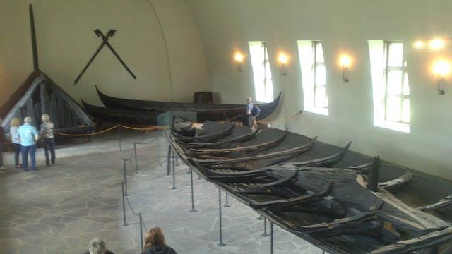 Barco Tune en el Museo de los Barcos Vikingos (Vikingskipshuset)