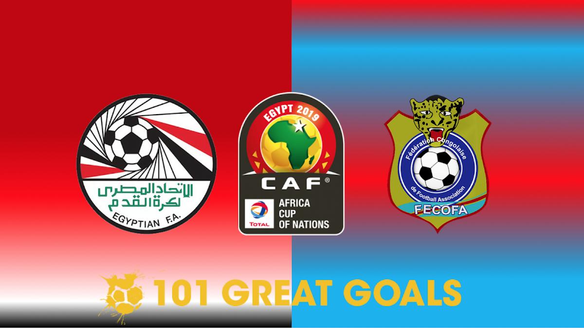 مشاهدة مباراة مصر و الكونغو 26-06-2019 كأس أمم إفريقيا