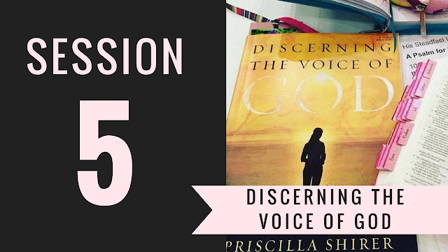 Session 5 - Discerning the Voice of God Bible Study