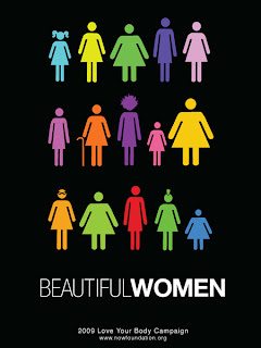 Diseño de cartel con mucho ingenio a favor de las mujeres