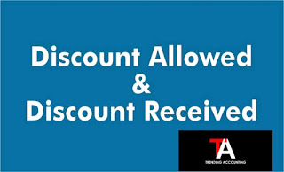 What is Discount Allowed and Discount Received?