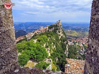 San Marino - Vistas desde Rocca Cesta (Rocca Guaita)