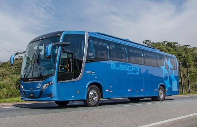 Aerodinámica y diseño en el Busscar Vissta Buss 360