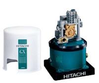 Daftar harga dan spesifikasi  pompa air merk Hitachi WTP 100 GX
