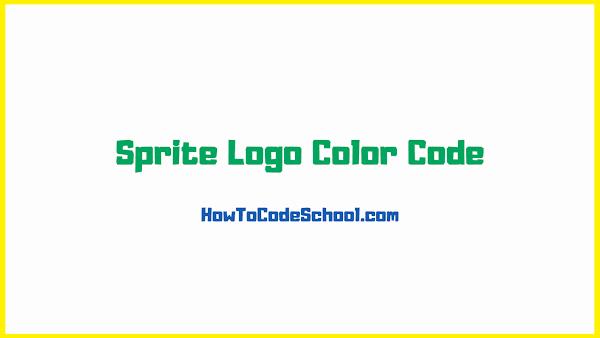 Sprite Logo Color Code