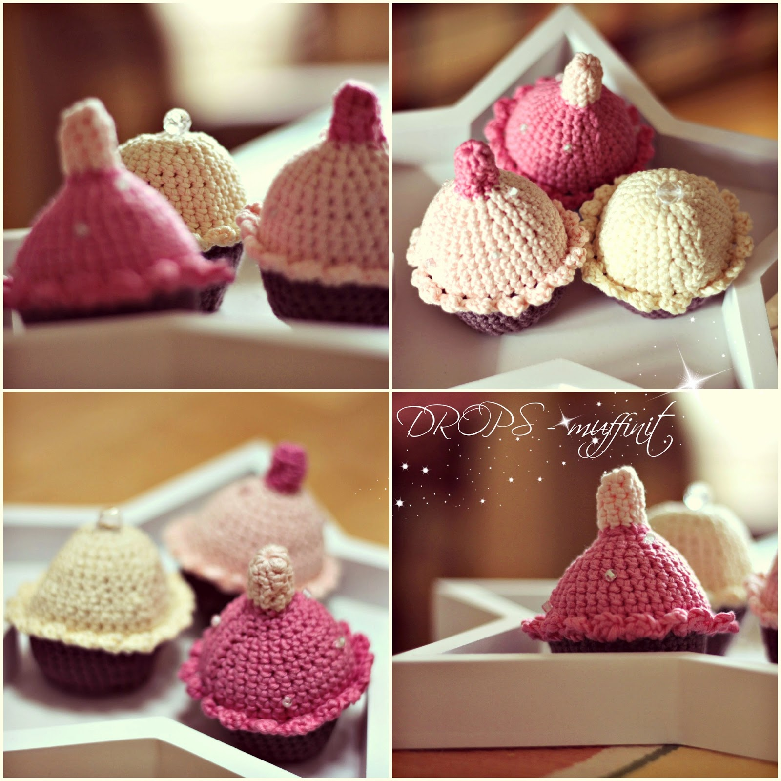 virkattu muffinssi