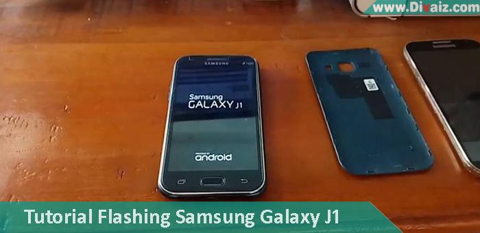 Tutorial & Cara Flashing Samsung Galaxy J1 SM-J100H Via Odin Terbaru