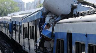 Accidente en el Tren Sarmiento año 2012