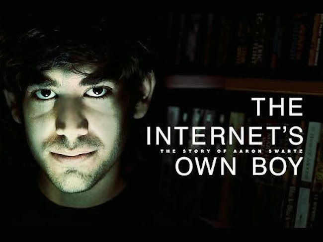 Documental The Internet's Own Boy: La historia de Aaron Swartz