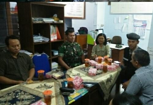 Rapat Koordinasi Penilaian Lomba Piala Adipura Dihadiri Juga Babinsa Klaten Utara