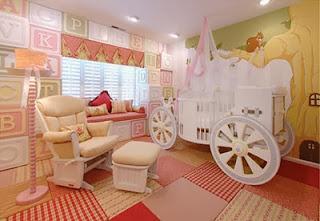 Dormitorio temático para bebé