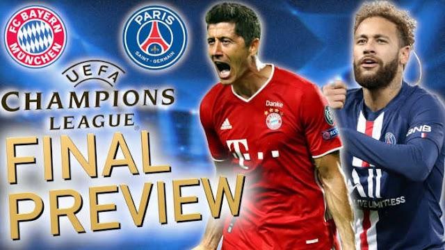 UCLFinal: Bayern vs PSG kickoff time, preview, line-ups, predictions