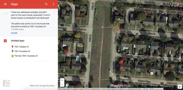 Derribaron su casa por un error de Google Maps