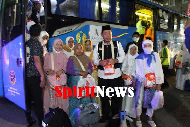 Jemaah Kloter III Debarkasi Haji Makassar Tiba di Tanah Air