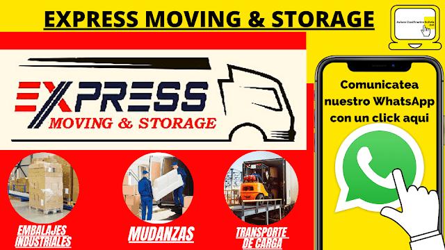 EXPRESS MOVING & STORAGE