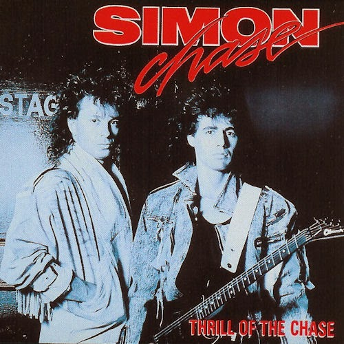 Simon Chase Thrill of the chase 1988 aor melodic rock