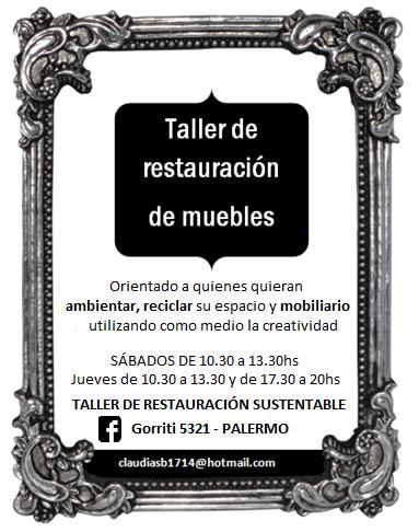 Taller de arte y restauraci n de muebles museo de - Taller restauracion muebles ...
