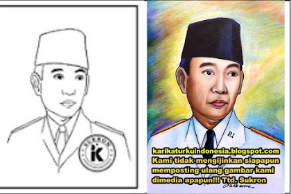 Mewarnai Gambar Soekarno