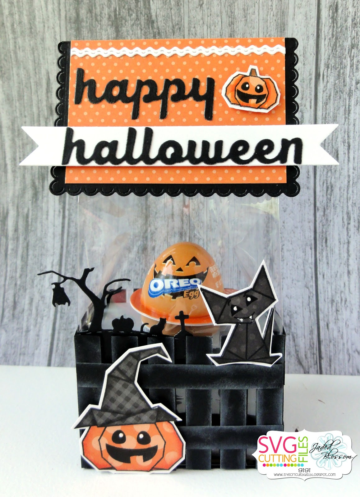 origami halloween set