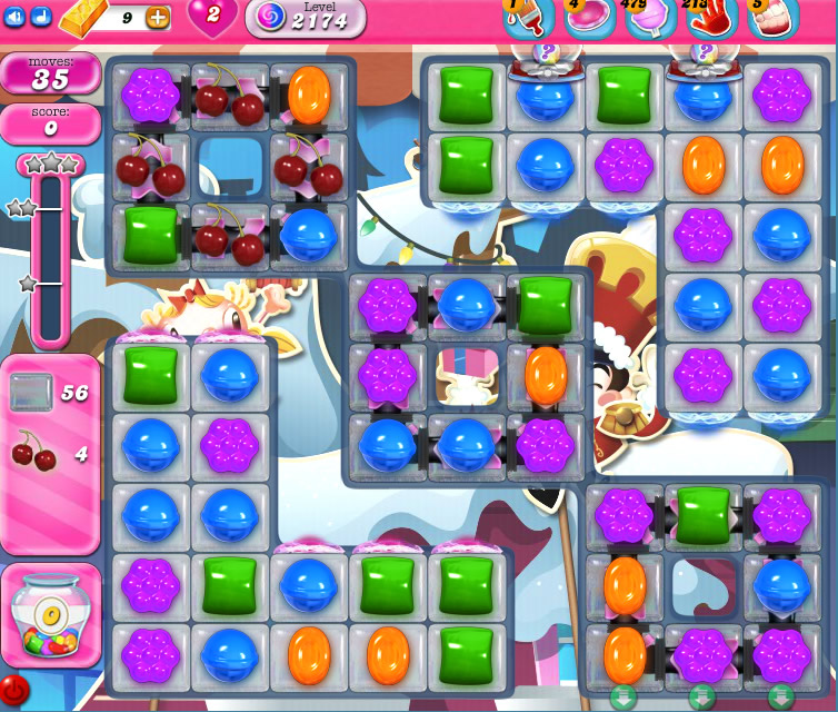 Candy Crush Saga level 2174
