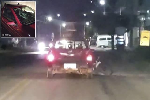 Motorista embriagado atropela ciclista e foge sem prestar socorro em Livramento