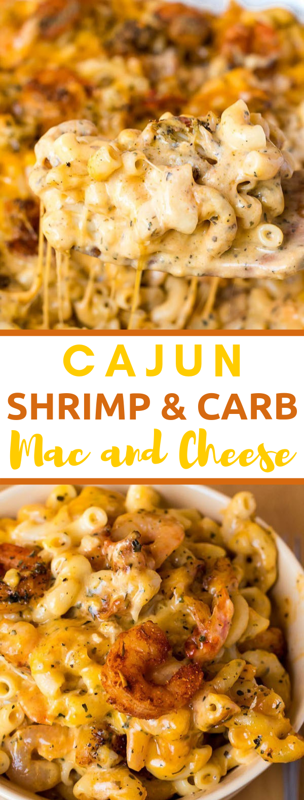 CAJUN SHRIMP AND CRAB MAC AND CHEESE #dinner #deliciousrecipe