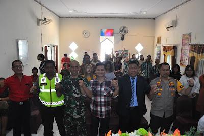 Tinjau Perayaan Natal, Bupati Nur Arifin Titip Doa untuk Trenggalek dan Indonesia