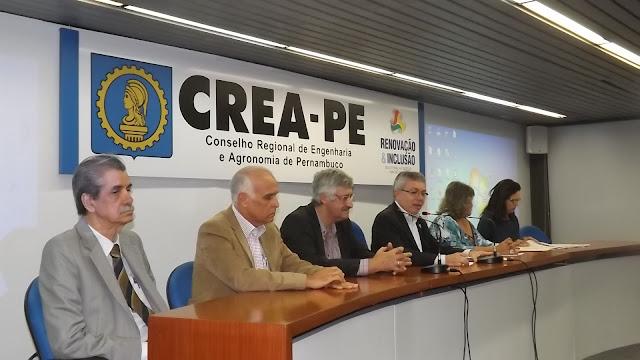 Crea-PE promove 5º Encontro Microrregional para profissionais das áreas tecnológicas apresentarem propostas que fortaleçam a Engenharia e a Agronomia na região de Goiana