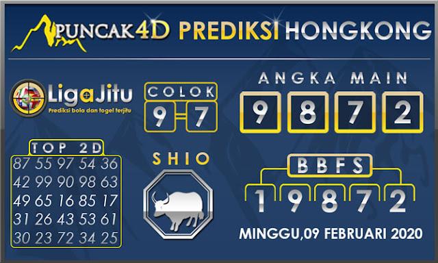PREDIKSI TOGEL HONGKONG PUNCAK4D 09 FEBRUARI 2020