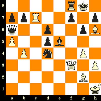 Les Blancs jouent et matent en 3 coups - Lubomir Kavalek vs Drazen Marovic, Cracovie, 1964