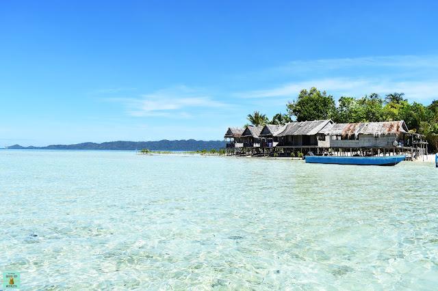 Isla de Arborek, Raja Ampat (Indonesia)