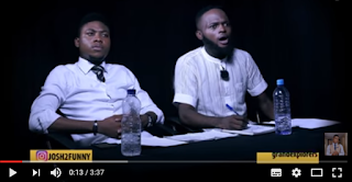 Robber attacks judges in The Audition episode 3 Josh2funny, Davidsyn and Bello Kreb