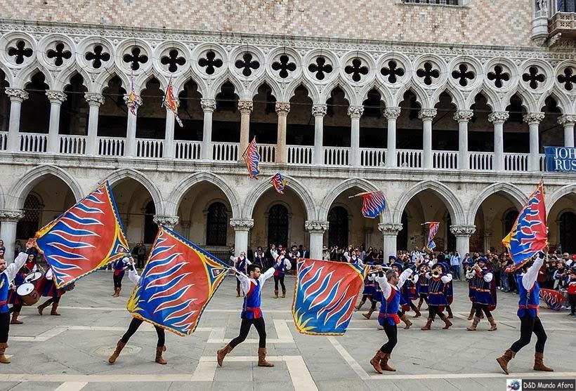 Praça São Marcos - Diário de Bordo - 1 dia em Veneza