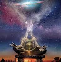 Pour tout homme au frontière Céleste, le mouvement de la contemplation ne s'effectue pas de la même manière ! La Fusion et La Vision inter-spatiale dans laquelle s'enfonce mon regard, s'appuie sur les ondes de « mon ciel ».