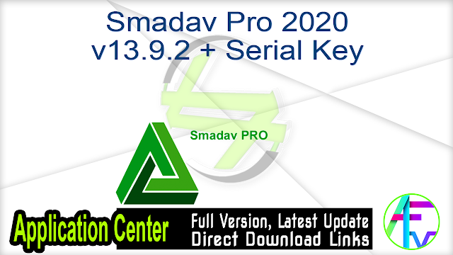 Smadav Pro 2020 v13.9.2 + Serial Key