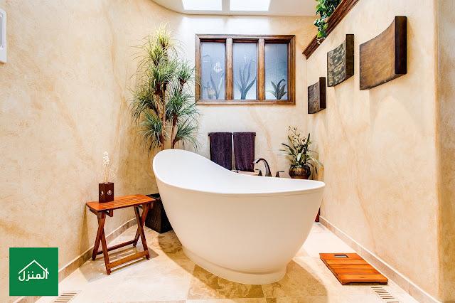 صور طريقة عمل ديكور حمام