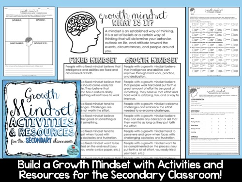 Creating A Growth Mindset In The Secondary Classroom The Daring