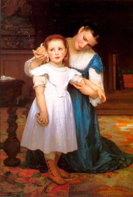 Адольф Вильям Бугро - Раковина (1871)
